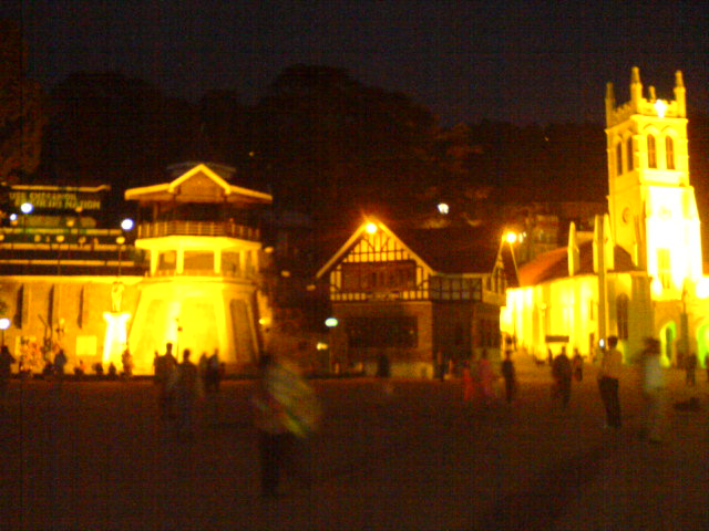 The Mall, Simla