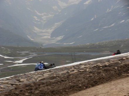 Rohtang La, with a Lake in Front, 13,500 Ft