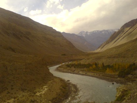Spiti River, before Tabo Monastery